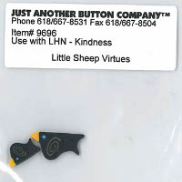 Just Another Button Company - Little Sheep Virtues #10 - Kindness Button Pack