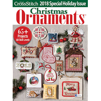 Just Cross Stitch Magazine - Christmas Ornaments 2018