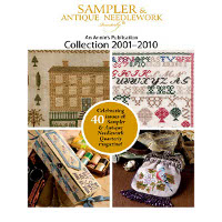Just Cross Stitch Magazine - Sampler and Antique Needlework Quarterly 2001-2010 DVD