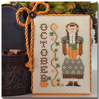 Little House Needleworks - Calendar Girls - October