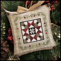Little House Needleworks - Farmhouse Christmas 5 - Grandma's Quilt