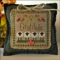 Little House Needleworks - Little Sheep Virtues #11 - Gratitude