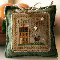 Little House Needleworks - Little Sheep Virtues #5 - Faith
