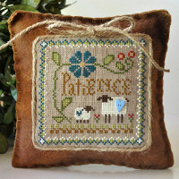 Little House Needleworks - Little Sheep Virtues #7 - Patience