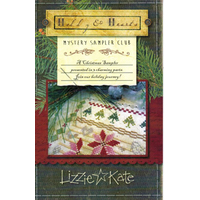 Lizzie*Kate - Holly & Hearts Mystery Sampler - Part 1