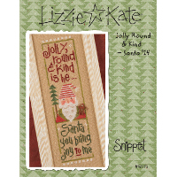 Lizzie*Kate - Jolly Round and Kind - Santa 2014
