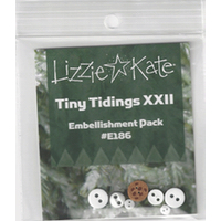 Lizzie*Kate - Tiny Tidings XXII Embellishment Pack