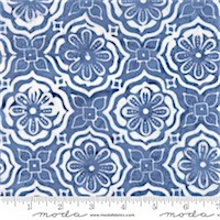 Moda - Latitude Batiks 27250-282 Treasure Sky