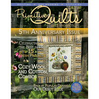 Primitive Quilts and Projects | Spring 2017 @ The Patchwork Rabbit : primitive quilts and projects magazine - Adamdwight.com