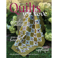 Primitive Quilts and Projects - Primitive Quilts We Love Issue 1