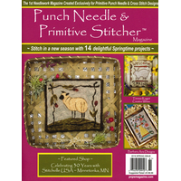 Punch Needle and Primitive Stitcher - Spring 2018
