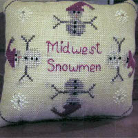 Widgets and Wool Primitives - Midwest Snowmen
