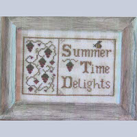 Widgets and Wool Primitives - Summer Time Delights
