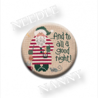 Zappy Dots - Lizzie Kate Goodnight Santa Needle Nanny