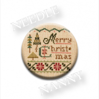 Zappy Dots - Lizzie Kate Merry Christmas Needle Nanny