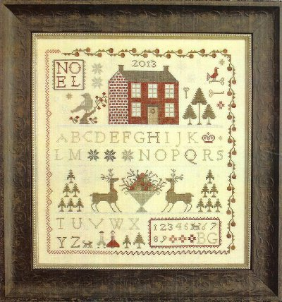 With Thy Needle and Thread - Noel Sampler