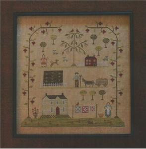With Thy Needle and Thread - Sampler of the Season - Spring