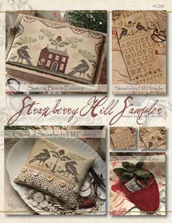 With Thy Needle and Thread - Strawberry Hill Sampler