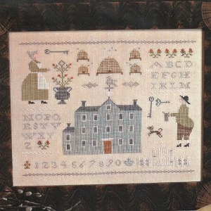With Thy Needle and Thread - The Bee Keeper's Sampler