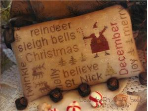 With Thy Needle and Thread - Word Play - December's Door Bells
