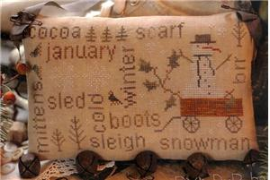 With Thy Needle and Thread - Word Play - January's Door Bells
