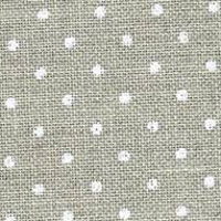 Zweigart - 32ct Belfast Petit Point White/Natural