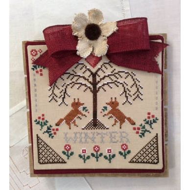 Annie Beez Folk Art - Sheltering Tree: Winter