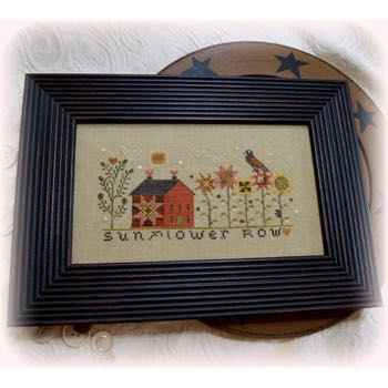 Annie Beez Folk Art - Sunflower Row