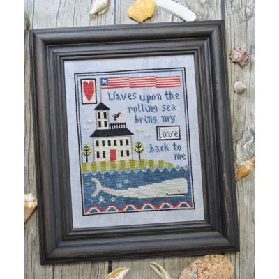 Annie Beez Folk Art - Widow's Walk