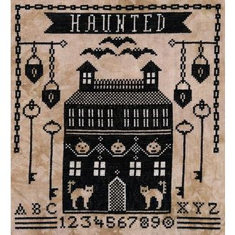 Artful Offerings - Haunted Manor House
