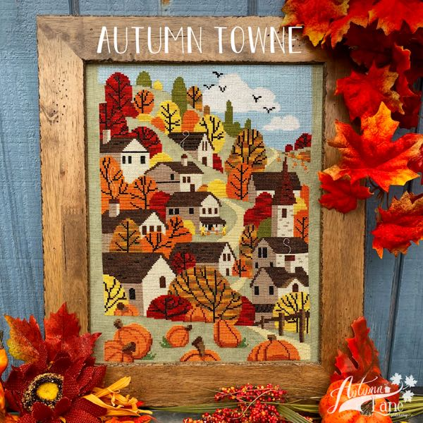 Autumn Lane Stitchery - Autumn Towne