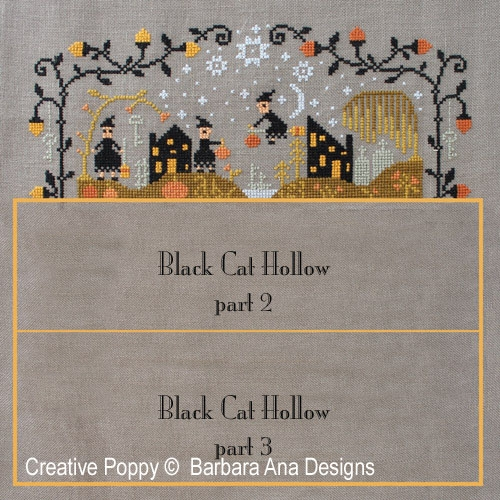 Barbara Ana Designs - Black Cat Hollow - Part 1