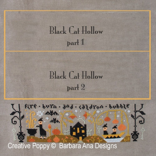 Barbara Ana Designs - Black Cat Hollow - Part 3