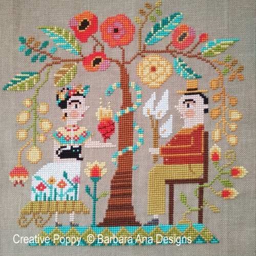Barbara Ana Designs - Frida and Diego