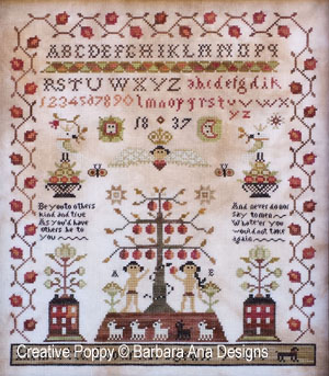 Barbara Ana Designs - Henrietta Goodrich Sampler
