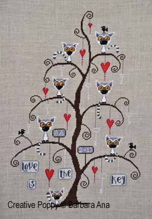 Barbara Ana Designs - Lemurtine Tree