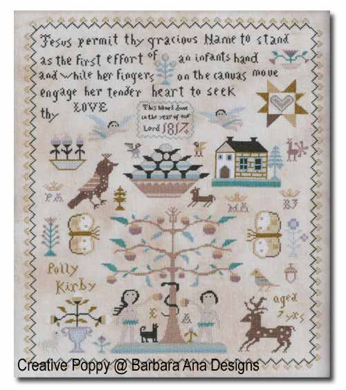 Barbara Ana Designs - Polly Kirby Sampler