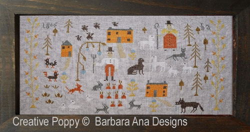 Barbara Ana Designs - Skinny Wolf Farm