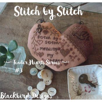 Blackbird Designs - Tender Hearts Series #3 - Stitch by Stitch