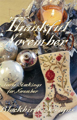 Blackbird Designs - Thankful November (Stocking)