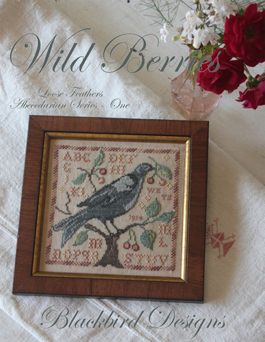 Blackbird Designs - Wild Berries - Loose Feathers Abecedarian #1 (LF#49)