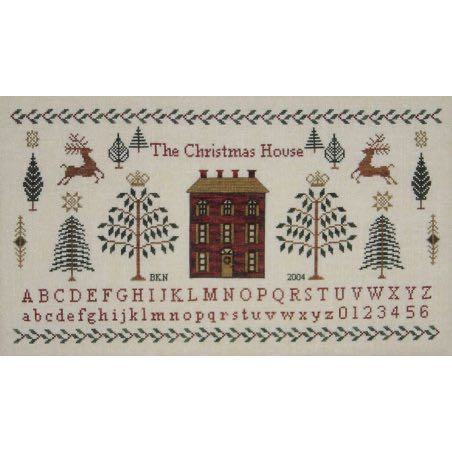 Blue Ribbon Designs - The Christmas House Sampler