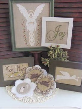 By the Bay Needleart - Angels of the Holy Night