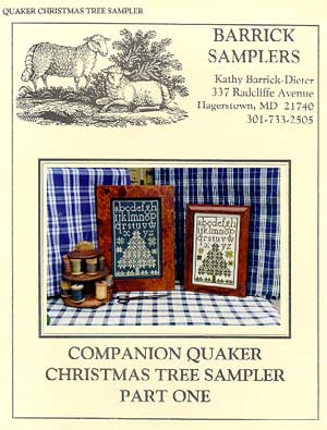 Carriage House Samplings - Christmas Tree Sampler 1