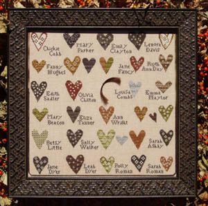 Carriage House Samplings - Friendship Sampler
