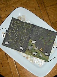 Chessie and Me - Hillside Sheep Needlebook