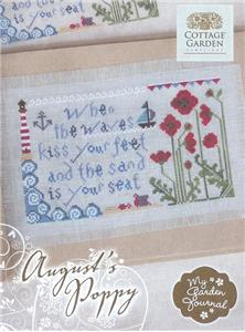 Cottage Garden Samplings - August's Poppy - My Garden Journal