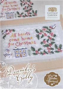 Cottage Garden Samplings - December's Holly - My Garden Journal
