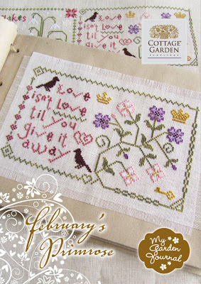 Cottage Garden Samplings - February's Primrose - My Garden Journal