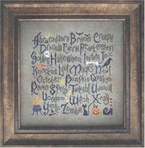 Cottage Garden Samplings - Halloween Sampler
